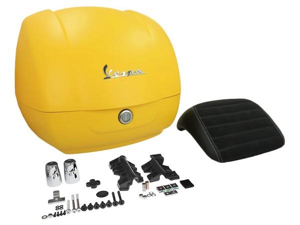 Original Top-case Vespa GTS Super Sport jaune Gelosia 974/A