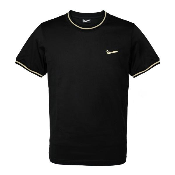 75 ans - T-shirt Vespa noir