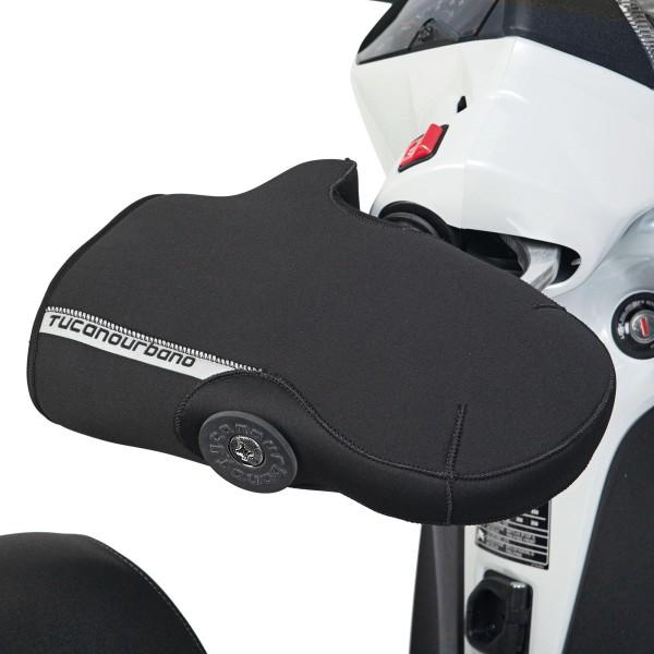 Gantelets de guidon, pour Vespa GT / Vespa GTS, avec protecteur, noir Tucano Urbano