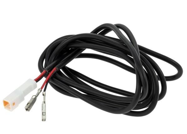 Jeu de câbles raccord sonde de température d'eau compte-tours/compteur de vitesse pour Vespa GTS/GTS Super 125-300ccm ('14-)