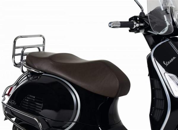 Siège en cuir véritable pour Vespa GTS