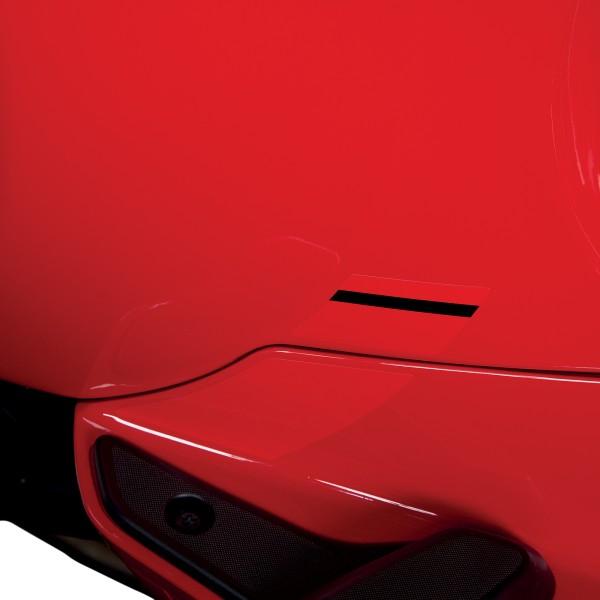 """Autocollant """"Sport Allure"""" look carbone pour Vespa Sprint"""