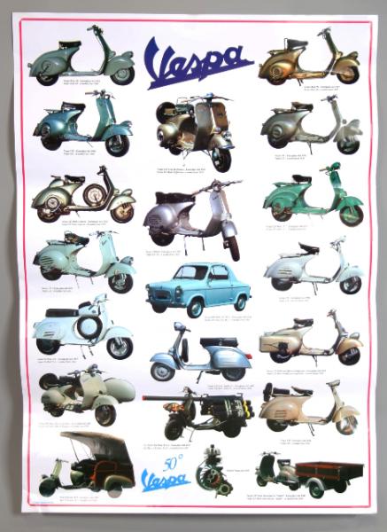 Vespa Poster, Vespa 2e série