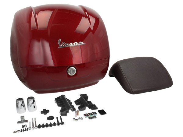 Original Top-case Vespa GTS Touring rouge Must 880/A