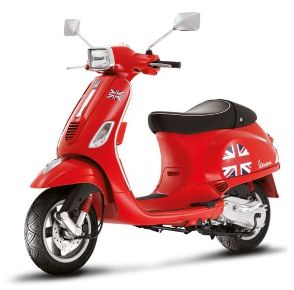 "Kit d'autocollant ""drapeau"" Vespa S - Angleterre / UK"