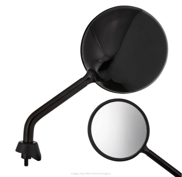 Rétroviseur Shorty, noir brillant, droit et gauche pour Vespa GTS / GTS Super HPE 125/300 ('19-)