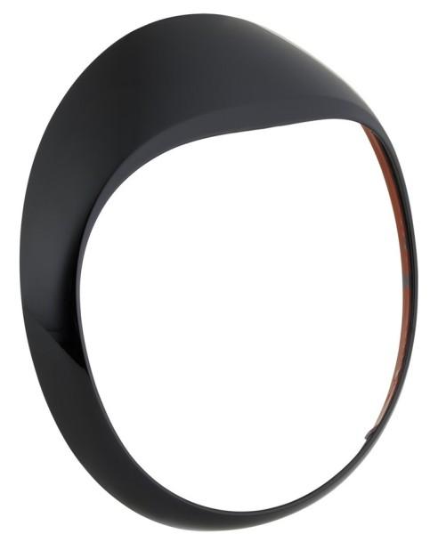Cerclage de phare pour GTS/GTS Super/GT/GT L 125-300ccm, noir brillant