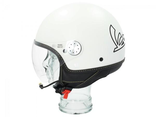 Vespa Jet Helmet Visor 3.0 Bluetooth blanc