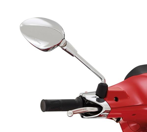 Rétroviseur droit chromé pour Vespa Sprint 50-150ccm 2T / 4T