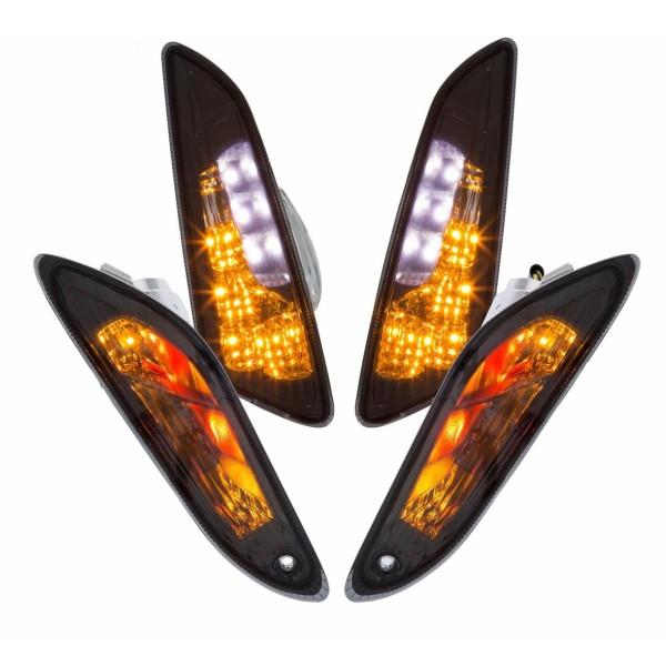 Clignotants set LED clair pour Vespa Primavera / Sprint 50ccm 2T / 4T
