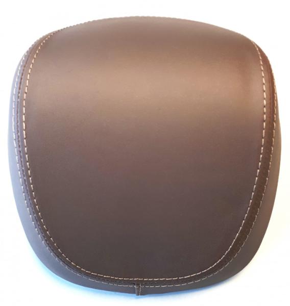Original dosseret top-case Vespa Primavera Special Edition 50° Anniversario - marron