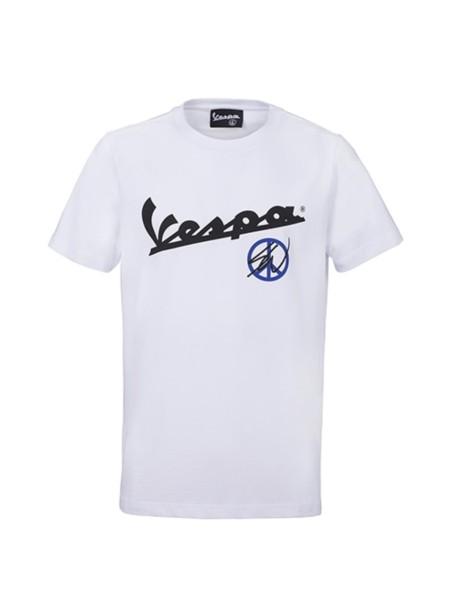 Sean Wotherspoon - Vespa T-Shirt Blanc