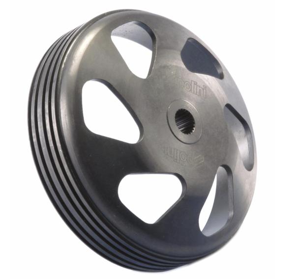 Cloche d'embrayage POLINI Speed Bell Evolution II pour Vespa ET2 / ET4 / LX / LXV / S 50cc 2T / 4T