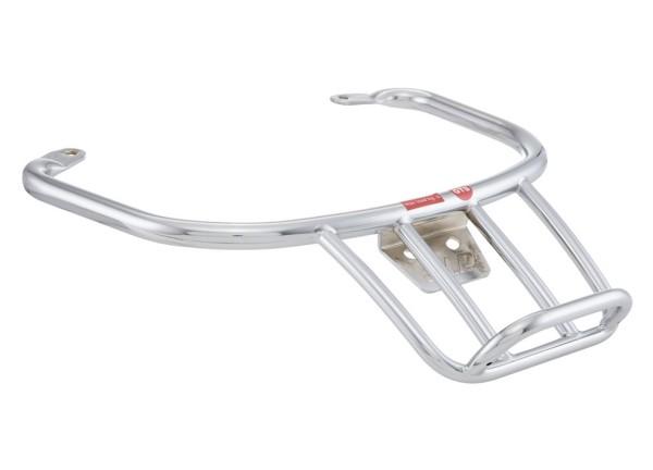 """Porte-bagage arrière """"70s"""" pour Vespa GTS/GTS Super/GTV/GT 60/GT L 125-300ccm 4T LC, chrome"""
