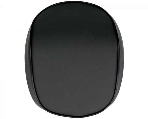 Original dosseret top-case Vespa Primavera / Sprint, noir mat avec liseré noir