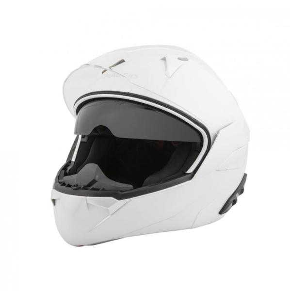 Piaggio casque modulaire blanc