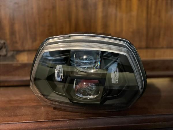 Phare LED Zelioni pour Vespa Sprint 50-150ccm 2T / 4T ('13 -'18) (avec numéro E)