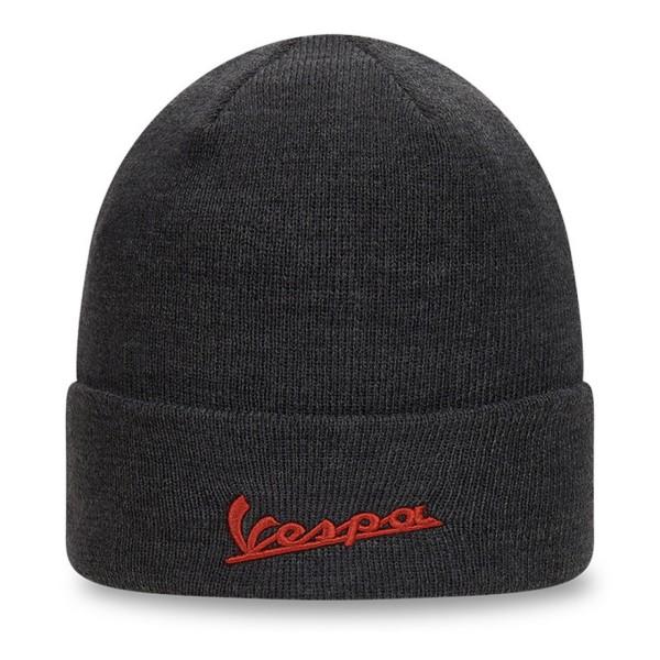 Chapeau tricoté Vespa NEW ERA noir