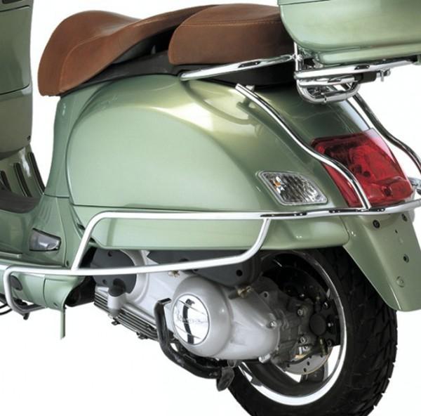 Barre de sécurité derrière, chrome pour Vespa GTS, GTV, GTS Super