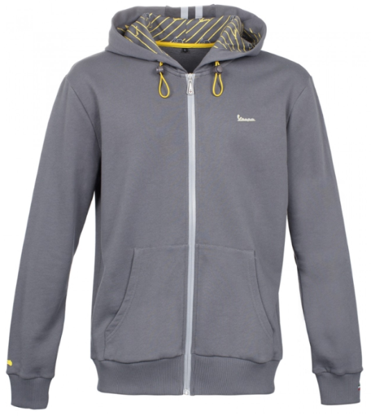 Vespa Graphic Sweatshirt homme gris