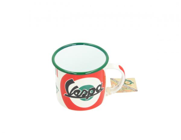 Vespa tasse en émail The Italian Classic