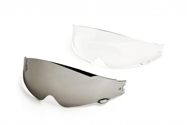 Visière intérieure Helmo Milano, transparente, résistante aux rayures, tous les modèles à vantail interne