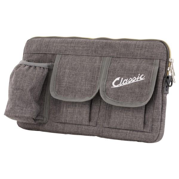 """Sacoche """"Classic"""" pour coffre à bagages / boîte à gants Vespa - gris, nylon"""