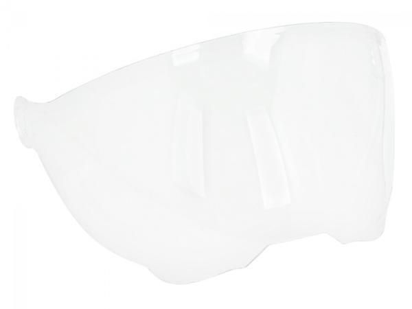 Visière pour casque Piaggio P-Style Jet, transparent