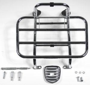Original Porte-bagage avant rabattable chromé Vespa LX