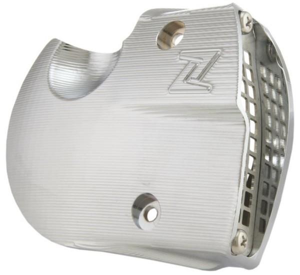 Prise d'air couvercle de variateur pour Vespa GTS/GTS Super/GTV/GT, chrome