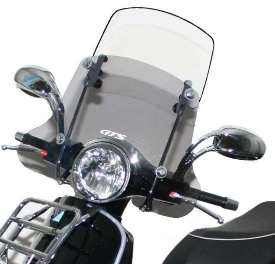 """Pare-brise """"Twin-Screen"""" pour Vespa GTS/GTS Super/GT/GT L 125-300ccm"""