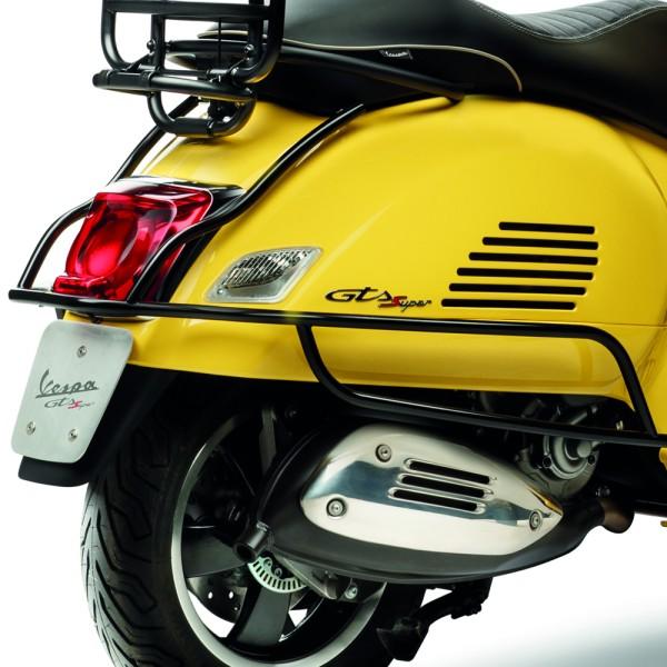 Original Vespa GTS Protection arrière, noir