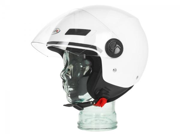 Shiro Jethelm, SH62, GS, blanc