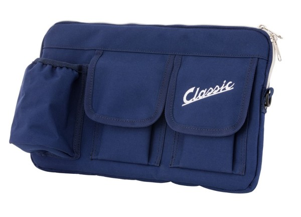 """Sacoche """"Classic"""" pour coffre à bagages / boîte à gants Vespa - bleu, nylon"""