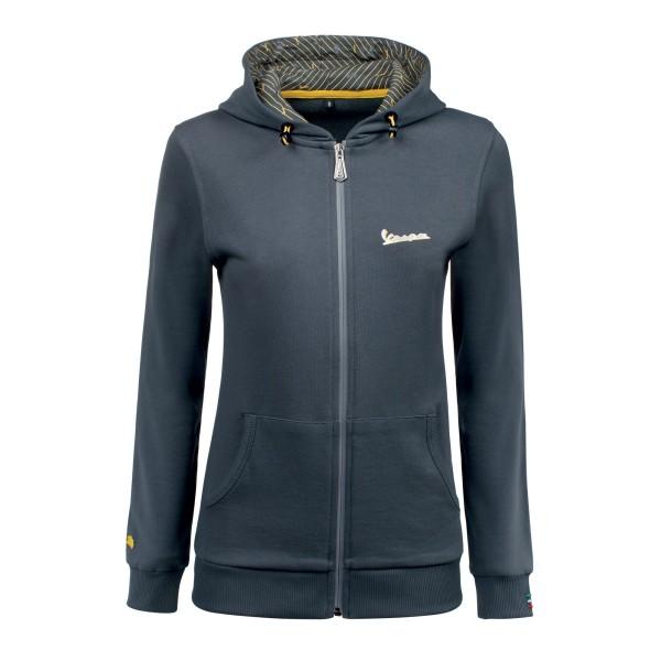 Vespa Graphic Sweatshirt femme gris