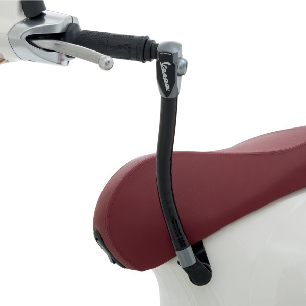 Original dispositif antivol (selle - guidon) renforcé pour Vespa Primavera / Sprint / Elettrica