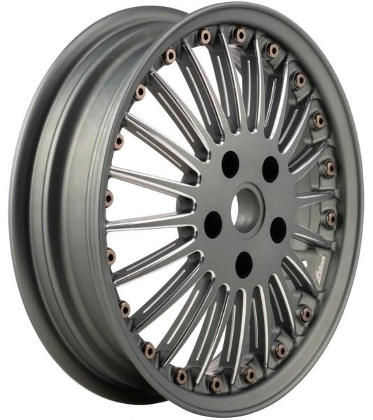 Jante Sport Classic avant/arrière pour Vespa GTS/GTS Super/GTV/GT 60/GT/GT L/946 125-300ccm, gris mate