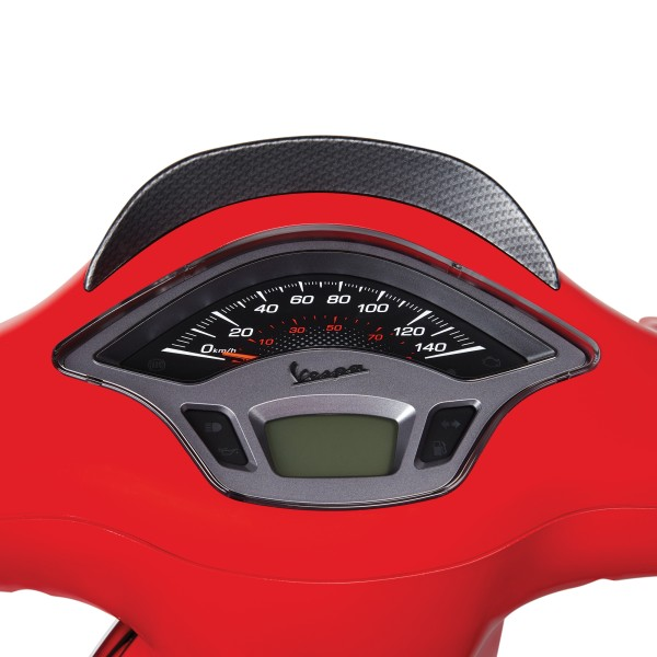 Couvercle de tableau de bord look carbone pour Vespa Sprint