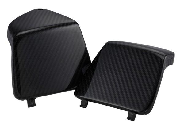 Capot de boite à gant gauche/droite pour Vespa GTS/GTS Super/GTV/GT 125-300ccm, carbone