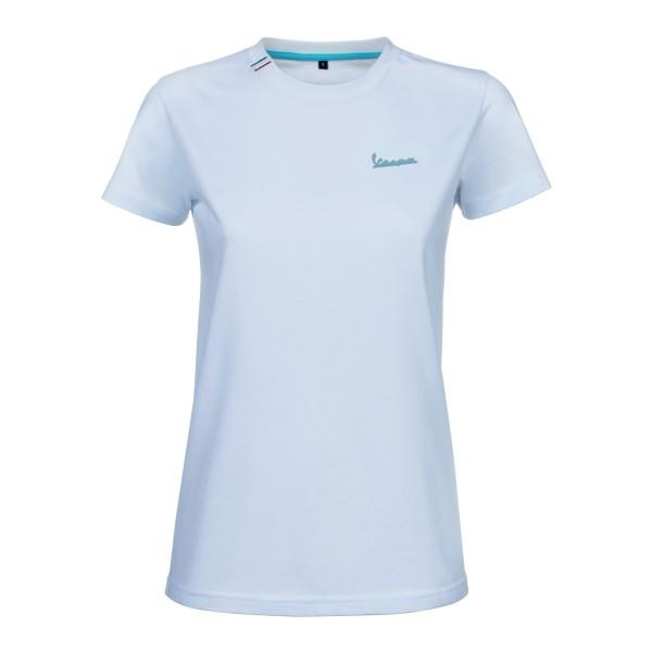 Vespa Graphic T-Shirt femme blanc