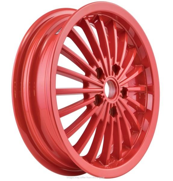Jante avant/arrière pour Vespa GTS/GTS Super/GTV/GT 60/GT/GT L 125-300ccm, rouge