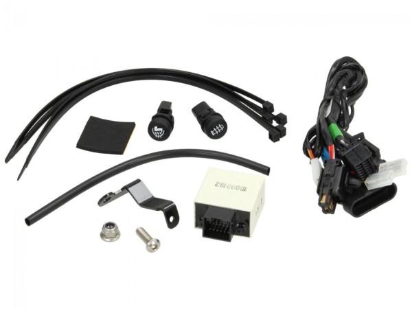 Kit d'installation pour le chauffage (protection des jambes et poignées) pour MP3 original