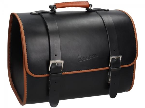 Original Vespa sac en cuir - noir