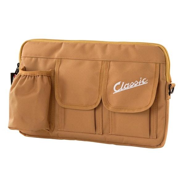 """Sac """"Classic"""" pour coffre à bagages / boîte à gants Vespa - noir, nylon"""
