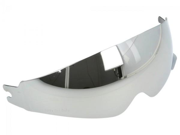 Visière intérieure Helmo Milano, miroir, anti-rayures et anti-buée, tous modèles avec ouvrant interne